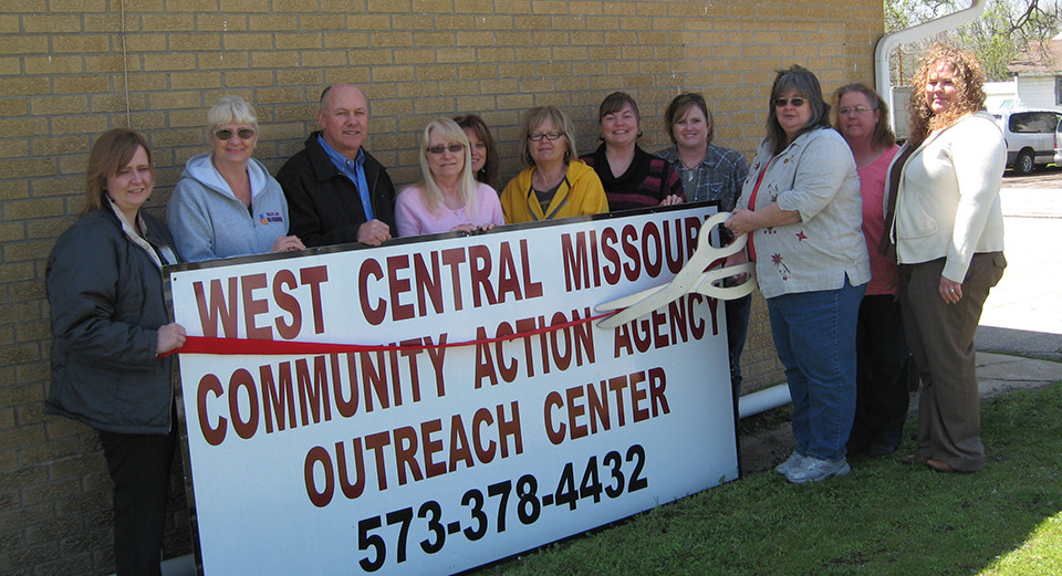 West Central Mo Community Action Agency Ribbon Cutting