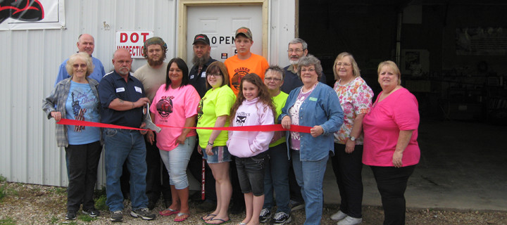 Cline's Ribbon Cutting